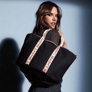 Victoria's Secret large Canvas Tote Bag